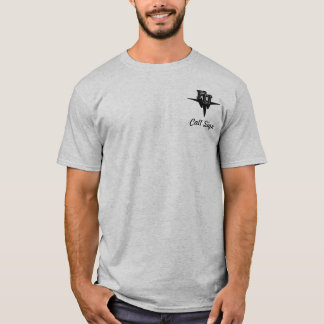 F-15W w/FU High Tech Eagle - Light colored T-Shirt