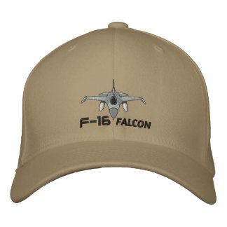 F-16 Falcon Embroidered Hat