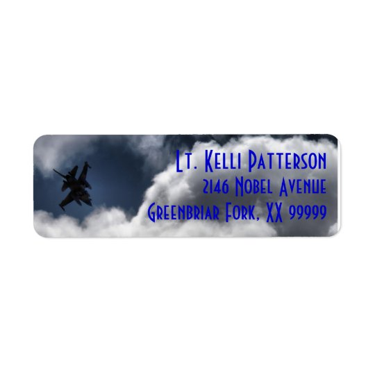 F-16 Falcon in the Cloudy Sky 3 Line