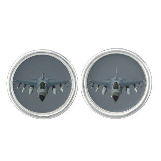 F-16 Fighter Jet Air Force Cuff Links
