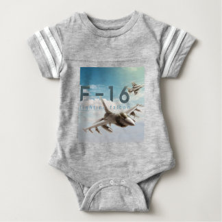 F-16 Fighting Falcon Baby Bodysuit
