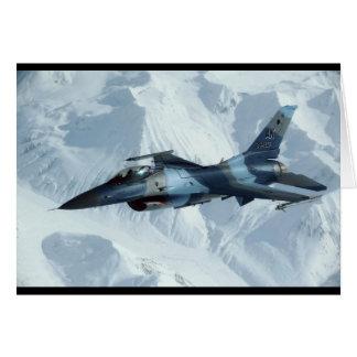 F-16 FIGHTING FALCON CARD