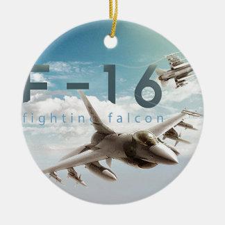 F-16 Fighting Falcon Ceramic Ornament