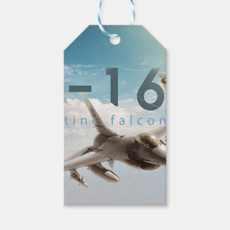 F-16 Fighting Falcon Gift Tags