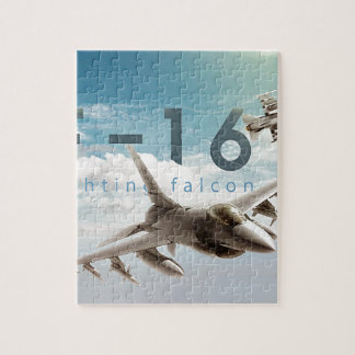 F-16 Fighting Falcon Jigsaw Puzzle