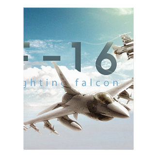 F-16 Fighting Falcon Letterhead