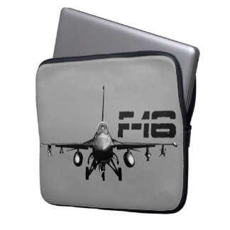 F-16 Fighting Falcon Neoprene Laptop Sleeve 13 in