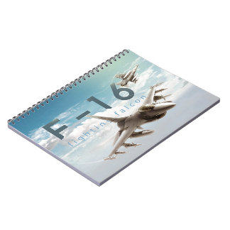 F-16 Fighting Falcon Notebook