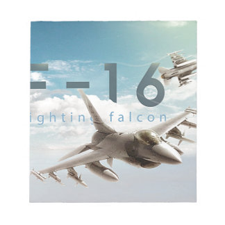 F-16 Fighting Falcon Notepad