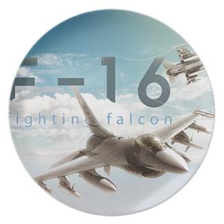 F-16 Fighting Falcon Party Plates