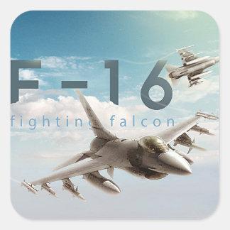 F-16 Fighting Falcon Square Sticker