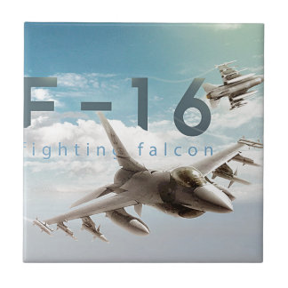 F-16 Fighting Falcon Tile