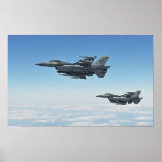 F-16 Fighting Falcons Print