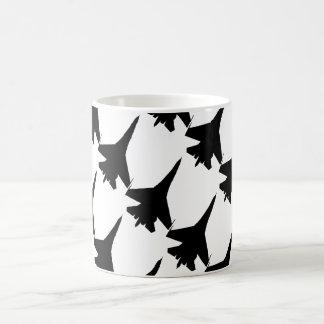 F 16 flight fighter coffee mug