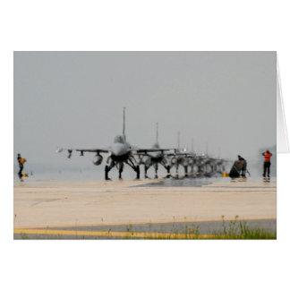 F-16 THUNDER CARD