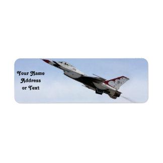 F-16 Thunderbird In Flight
