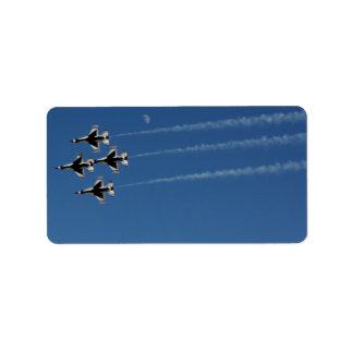 F-16 Thunderbirds Diamond  Formation