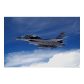 F-16 Two Seater Poster