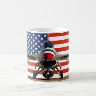 F-16 US Flag Mug