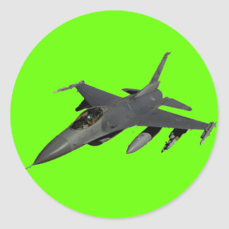 F-18 ROUND STICKER
