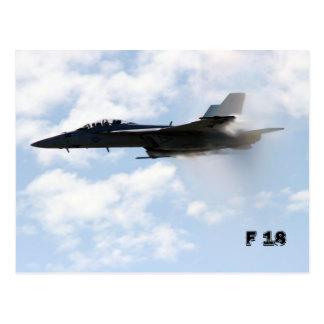 F 18 Sound Barrier Postcard