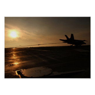 F-18 Tailhook Poster