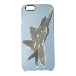 F-22 Fighter Jet Clear iPhone 6/6S Case