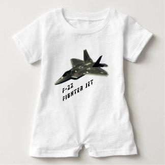 F-22 Fighter Jet, Raptor Baby Romper