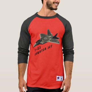 F-22 Fighter Jet, Raptor T-Shirt