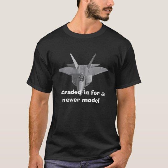 F-22 Mens Black T-shirt