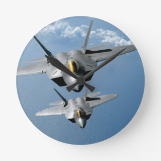 "F-22 RAPTOR 8""  WALL CLOCK"