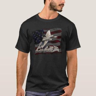 F-22 Raptor American Flag T-Shirt