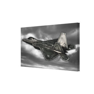 F-22 RAPTOR CANVAS PRINT