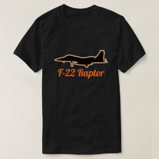 F-22 Raptor Dark Military Jet Fighter T-Shirt