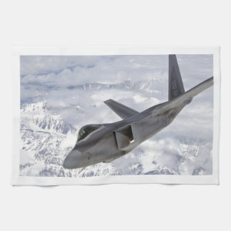 F-22 Raptor-Elmendorf AFB Kitchen Towel