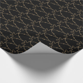 F-22 Raptor US Military Jet Fighter Wrapping Paper