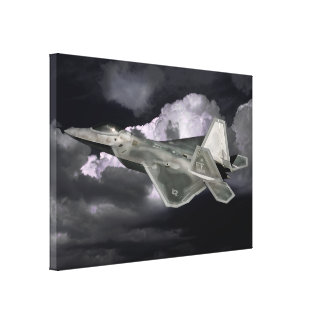 F-22 RAPTOR Wrapped Canvas