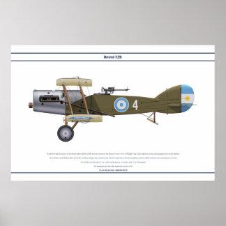 F.2B Argentina Poster