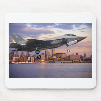 F-35 LIGHTNING FIGHTER AIRCRAFT MOUSE PADS