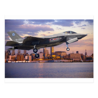 F-35 LIGHTNING FIGHTER AIRCRAFT POSTCARD