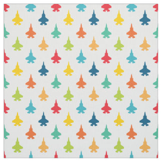 F-35 Lightning Fighter Jets Pattern Primary Fabric