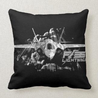 F-35 Lightning II Grade A Cotton Throw Pillow 20x
