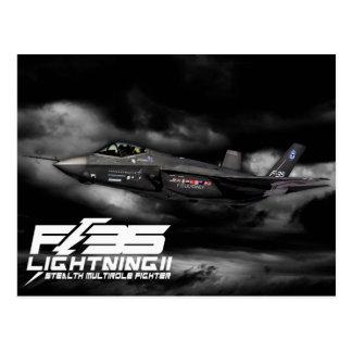 F-35 Lightning II Postcard