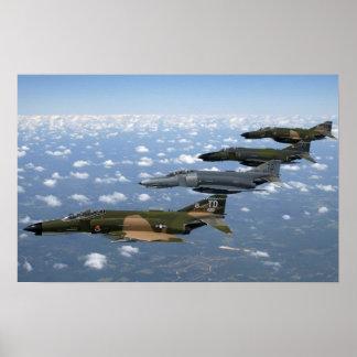 F-4 Phantom II Heritage Flight Poster