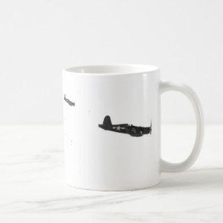F-4 Squadron Basic White Mug