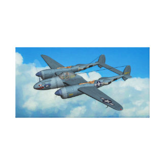 F-5A Lighting Photo Recon Canvas Print