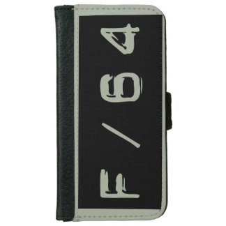 F/64 Wallet iPhone Case