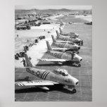 F-86 Sabres Poster