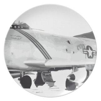 F-86D PLATE