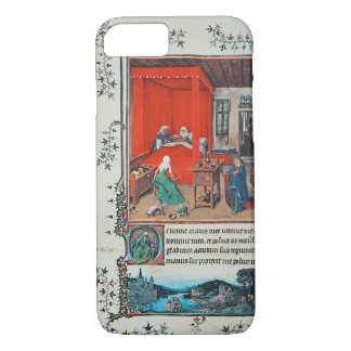 f.93v The Birth of John the Baptist and the Baptis iPhone 7 Case
